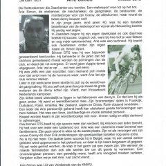 In Memoriam Arie SImon